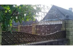 Забор кований Володимирець