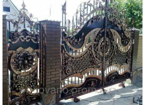 Ворота ковані Астра 2