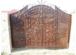 Ворота ковані Іннеса Иннеса