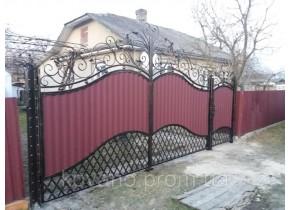 Ворота ковані Магда