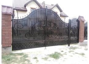 Ворота ковані Злата 2