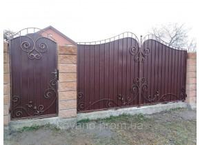 Ворота ковані Ріта Рита