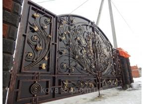 Ворота ковані Балтика Балтика плюс
