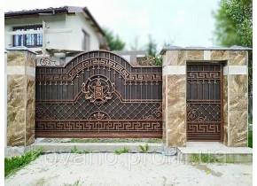 Ворота ковані Белла 2