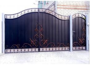 Ворота ковані Робета