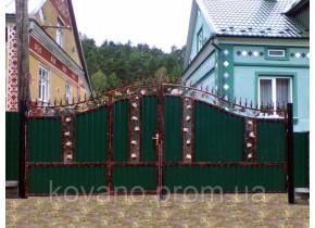 Ворота ковані Ірма