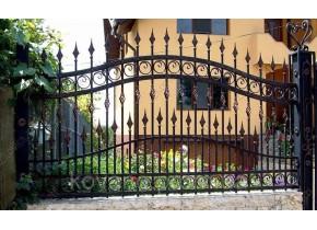 Забор кованый Євеліна