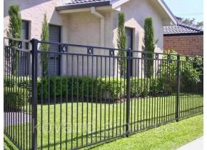 Забор кованый Класика