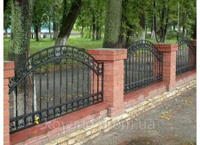 Забор кованый Ростислава
