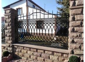 Забор кованый Елеонора
