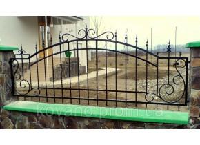 Забор кованый Каріна