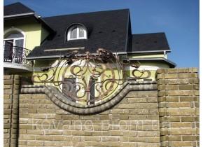 Забор кованый Валерія