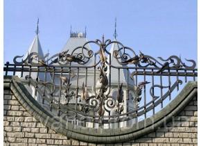 Забор кованый Адель
