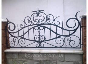 Забор кованый Руфіна