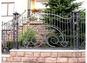Забор кованый Злата