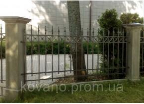 Забор кованый Дора