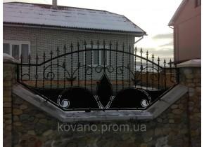 Забор кованый Опера