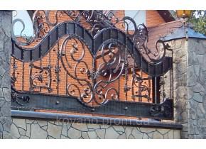 Забор кованый Волинь