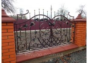 Забор кованый Драм