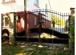 Ворота ковані Аріна Аріна плюс