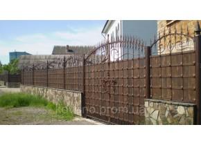 Ворота ковані Бастіон Бастион