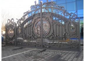 Ворота ковані Богдан