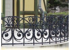 Перила кованые Орнамент