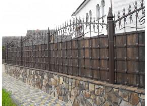 Забор кованый Зевс -2 Зевс - 2 плюс