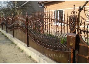 Забор кованый Волна -2 Волна - 2 Хвиля
