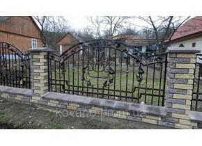 Забор кованый Авраам 2