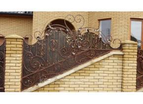 Забор кованый Джинс
