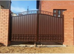 Ворота кованые Дамир