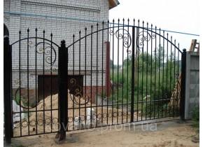 Ворота ковані Нора