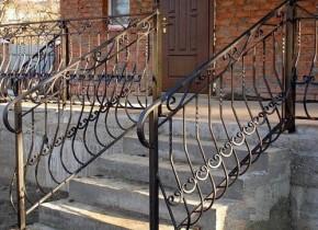 Кованые перила поручни балконы лестницы
